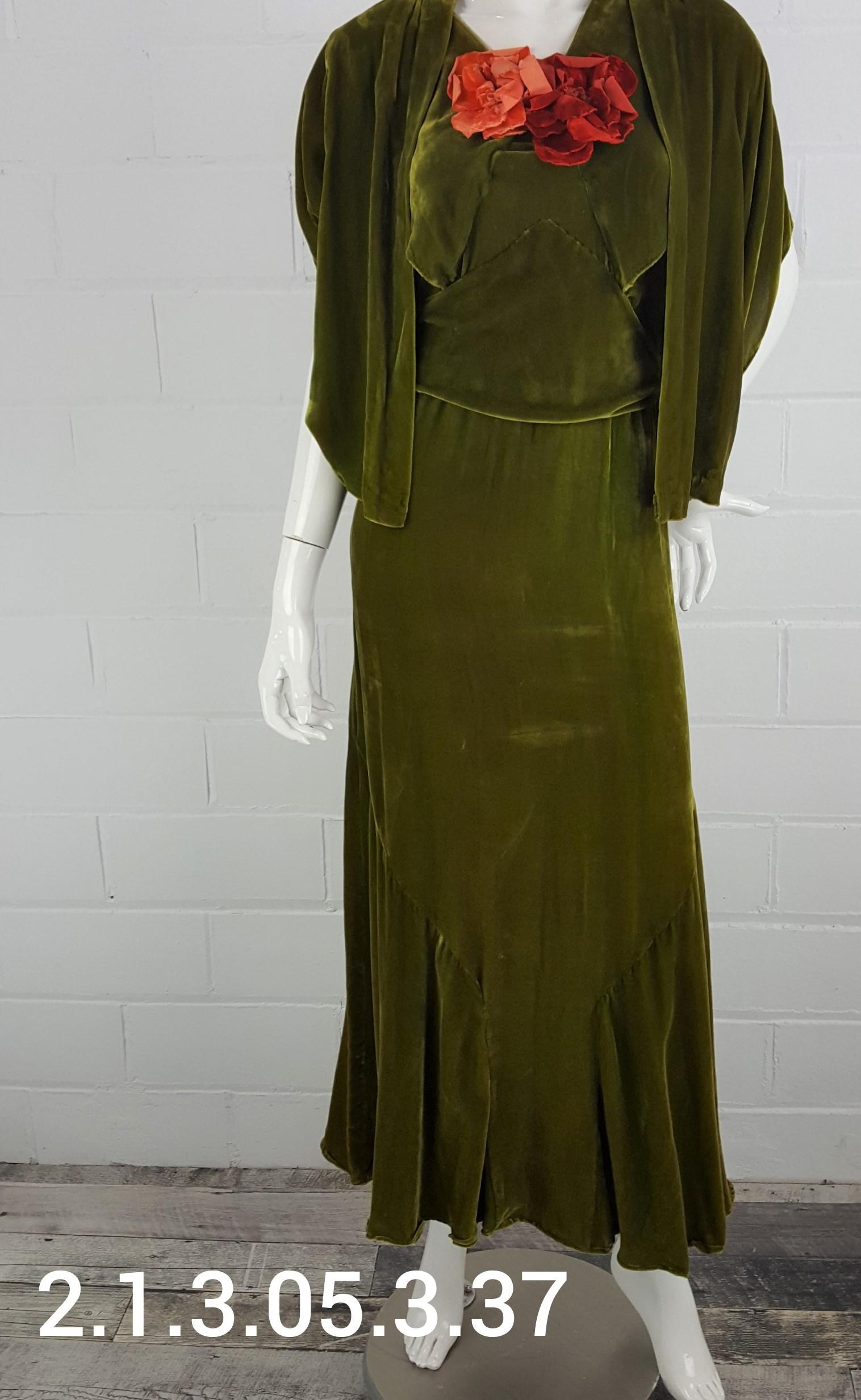 Olive-Dress
