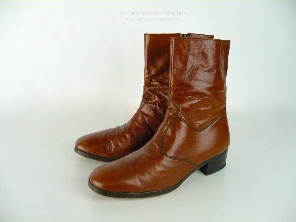 Ian Drummond Collection IDC Vintage 70s mens shoes 10