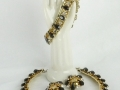 Ian Drummond Collection IDC Vintage Toronto Movie TV Wardrobe Rental jewellery 3 pc set Hattie Carnegie 1