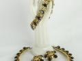 Ian Drummond Collection IDC Vintage Toronto Movie TV Wardrobe Rental jewellery 3 pc set Hattie Carnegie 1