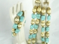 Ian Drummond Collection IDC Vintage Toronto Movie TV Wardrobe Rental jewellery 3 pc set Trifari 1