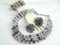 Ian Drummond Collection IDC Vintage Toronto Movie TV Wardrobe Rental jewellery 4 pc set Hobe 1