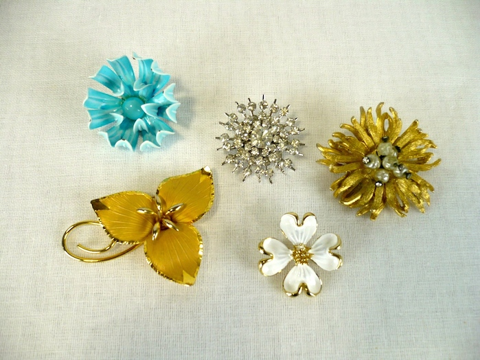 An Assortment of Mid-Century Brooches.JPG