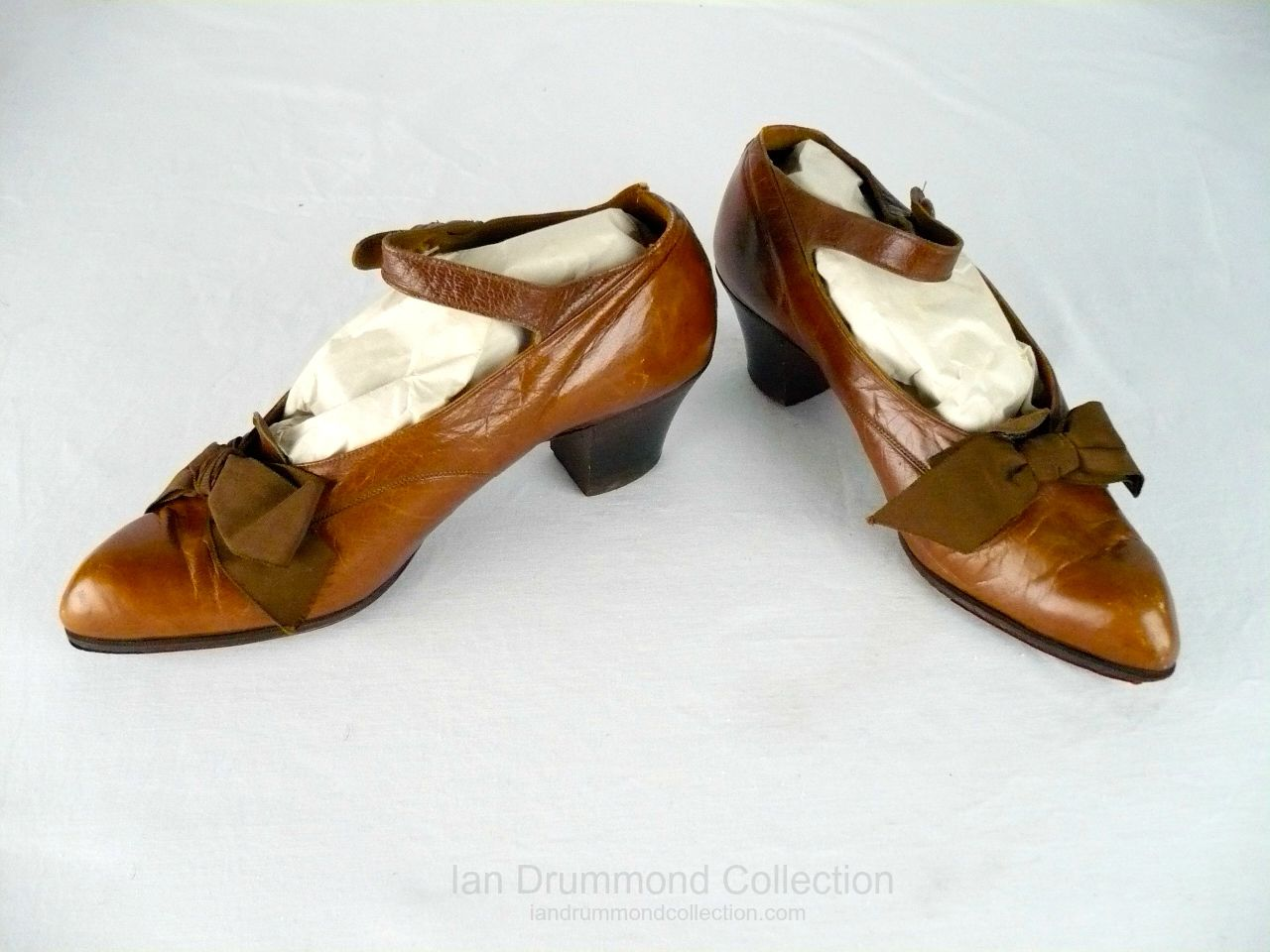Ian Drummond Colleciton Toronto Vintage Clothing Show 20s Shoes