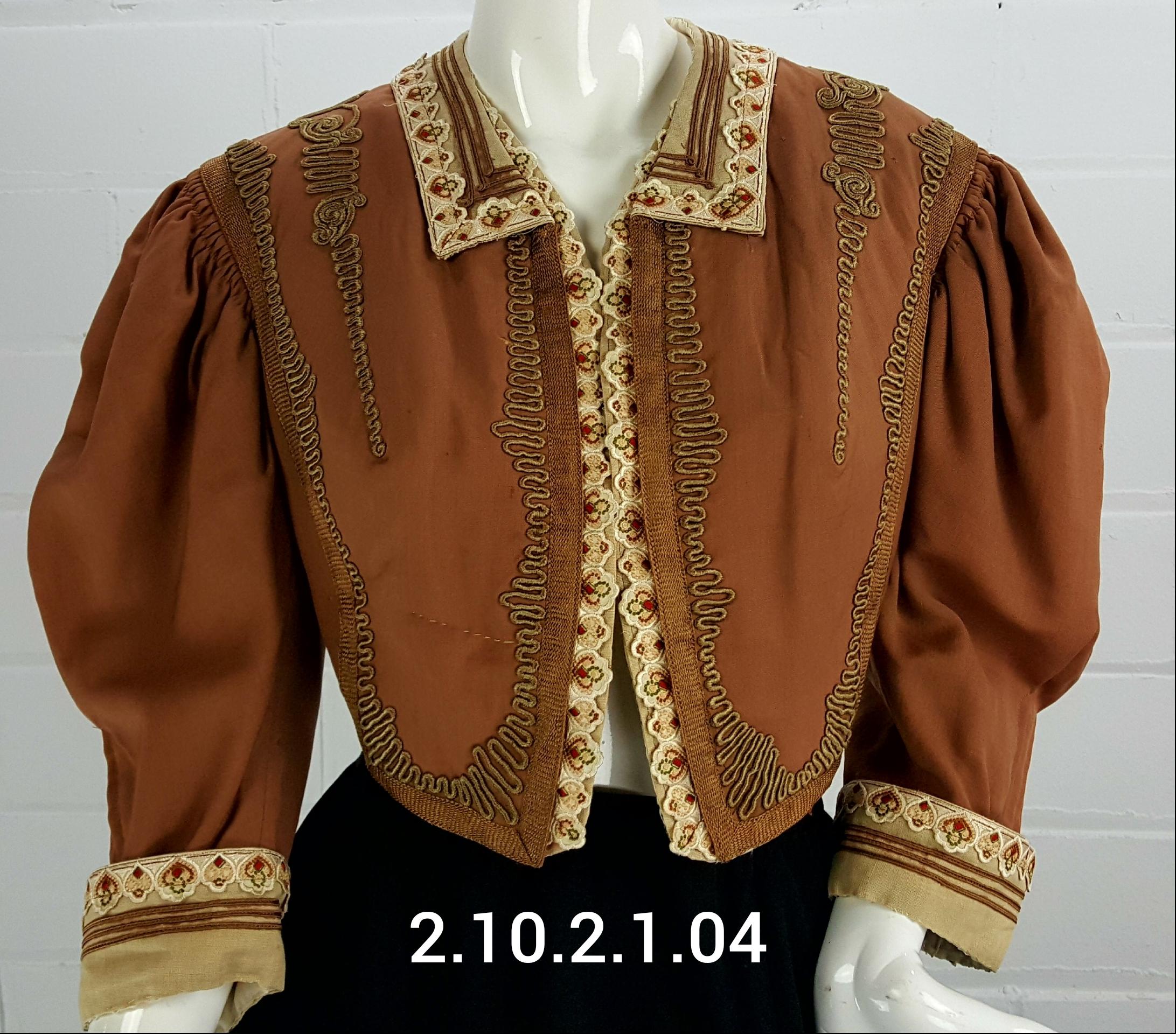 Brown-Jacket
