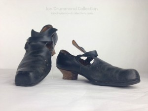 Ian Drummond Collection Movie/TV Wardrobe Rental Period Shoes, Sold for a Production, IDC VINTAGE, Toronto TV MOVIE wardrobe rental