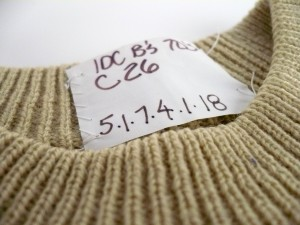 Ian Drummond Collection Sample Label