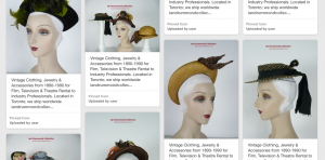 Ian Drummond Collection 1930s 1940s Hats as they appear on Pinterest