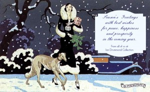 Warm wishes for all the best from Ian Drummond Collection