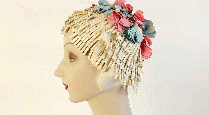 vintage swim cap