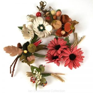 IDC Ian Drummond Collection Vintage Millinery Flowers