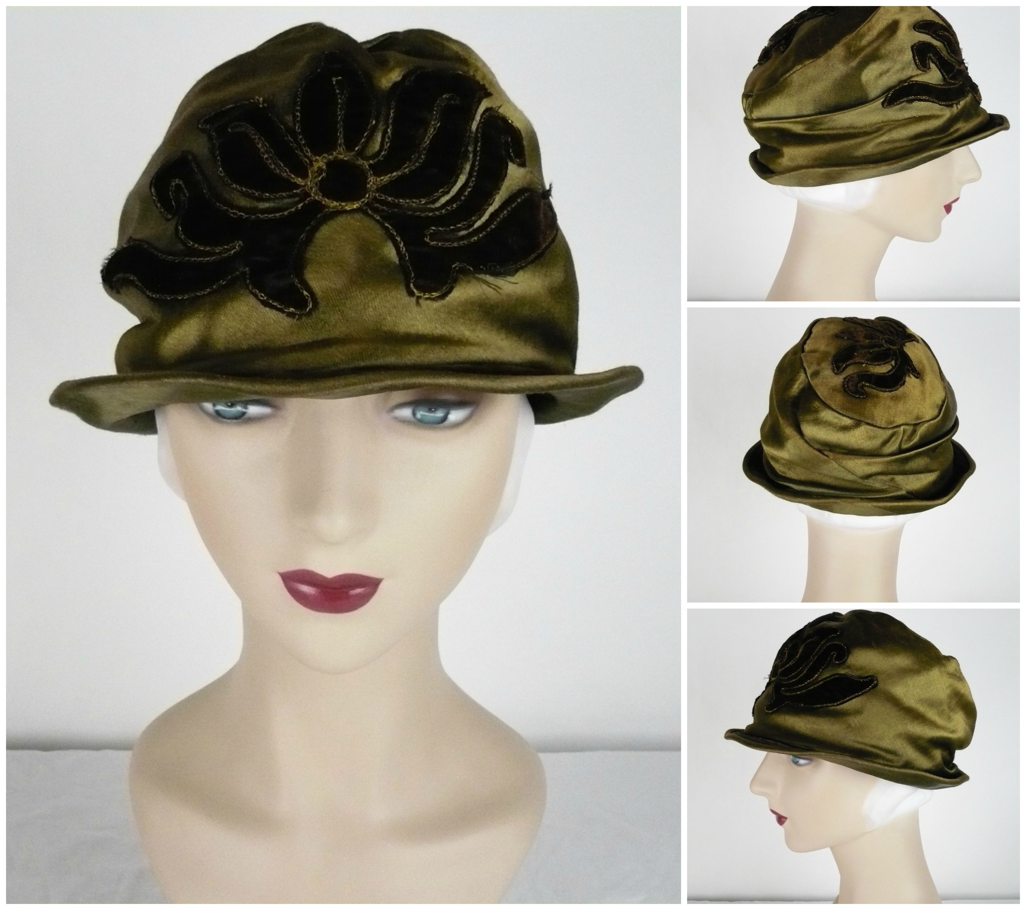 Ian Drummond Collection 20s hats 1 Collage