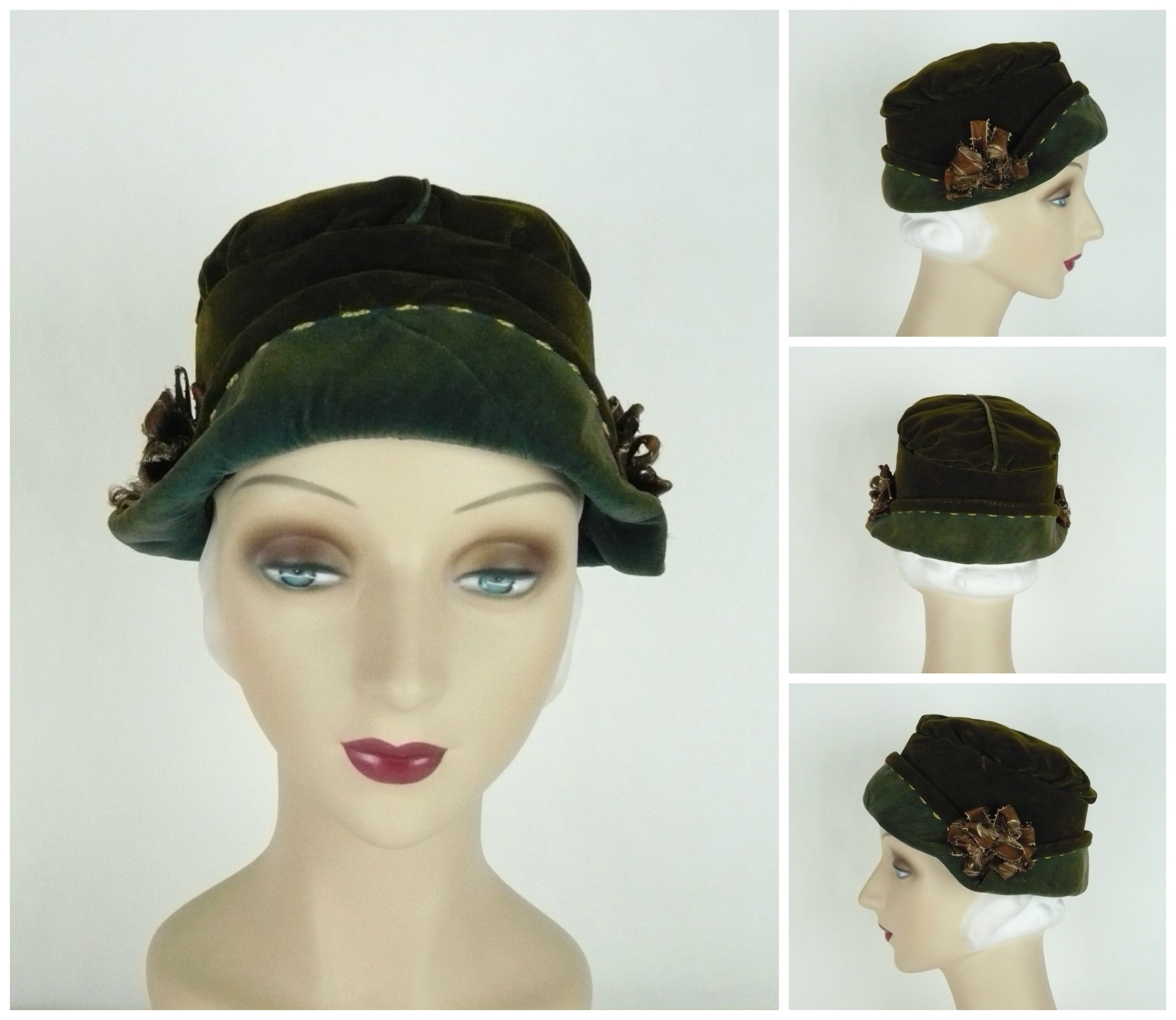Ian Drummond Collection 20s hats 15