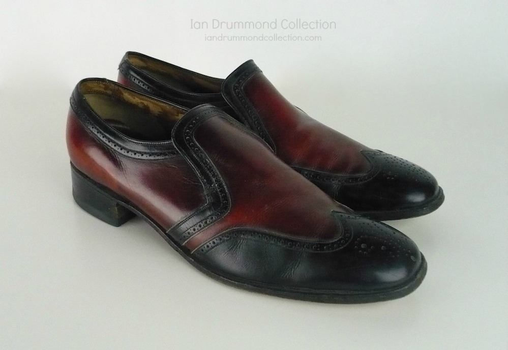Ian Drummond Collection IDC Vintage 70s mens shoes 8