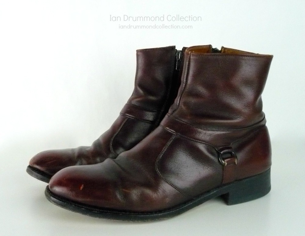 Ian Drummond Collection IDC Vintage 70s mens shoes 9