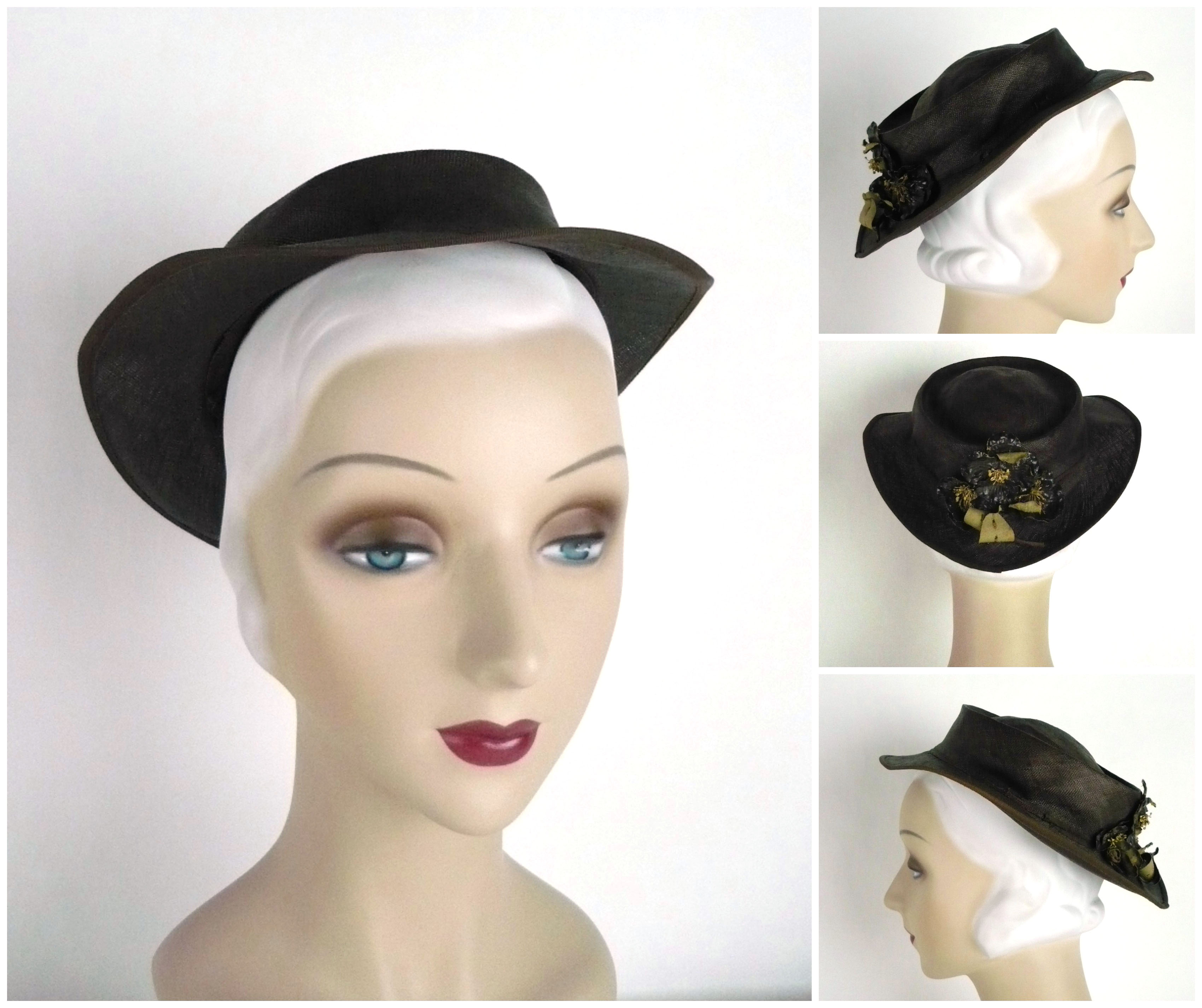 Ian Drummond Collection 1930s Hat 16