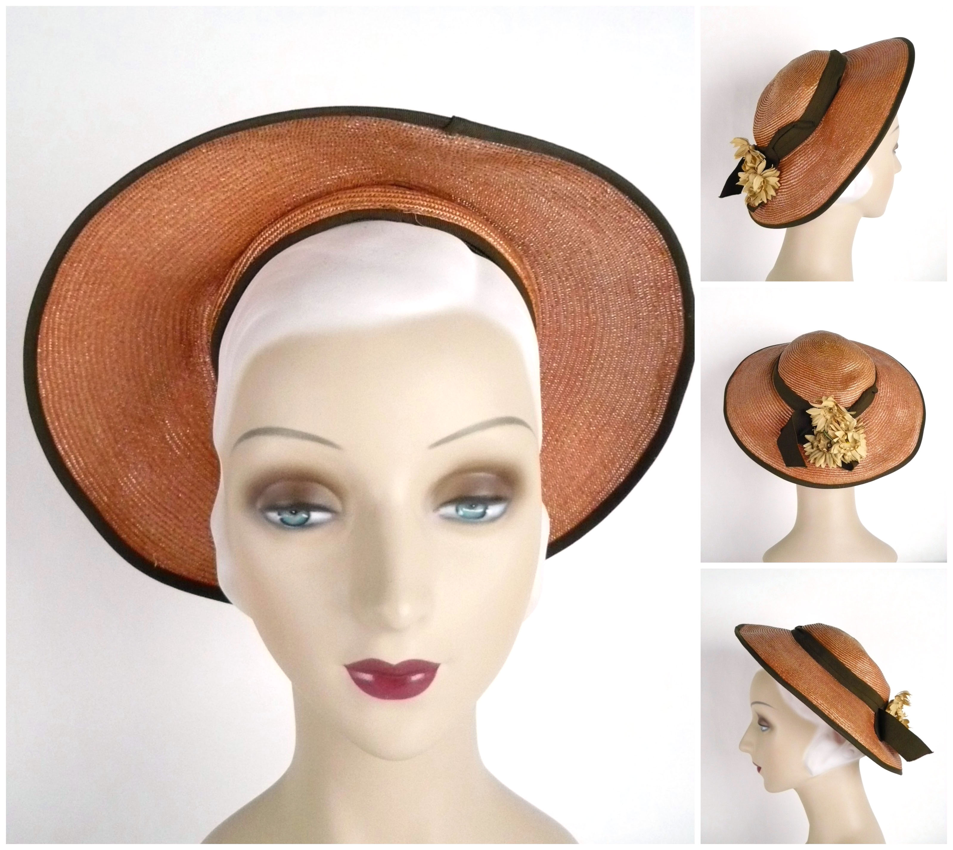 Ian Drummond Collection 1930s Hat 24