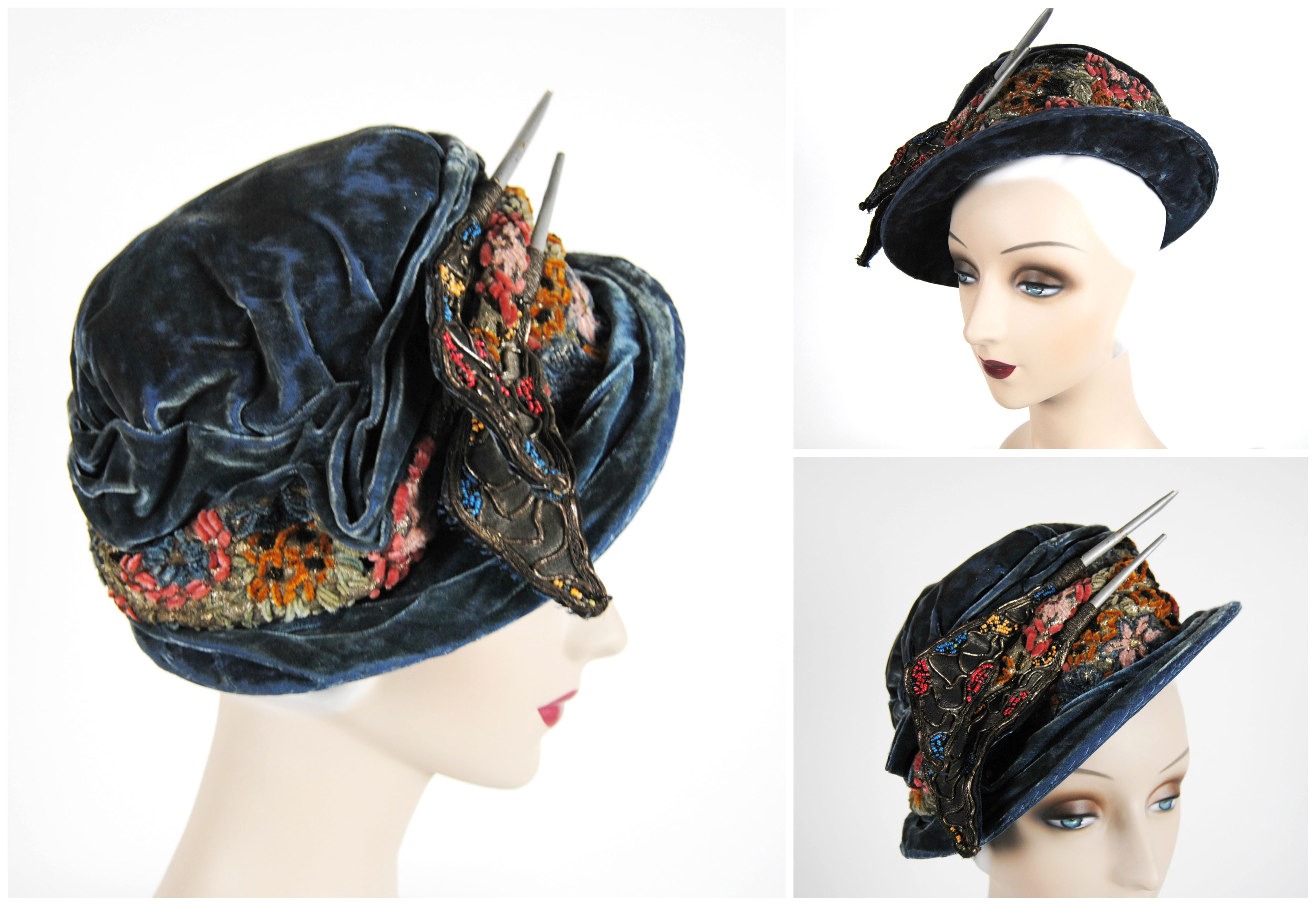 Ian Drummond Collection IDC Toronto Wardrobe Rentals Womens 20s Hat 1