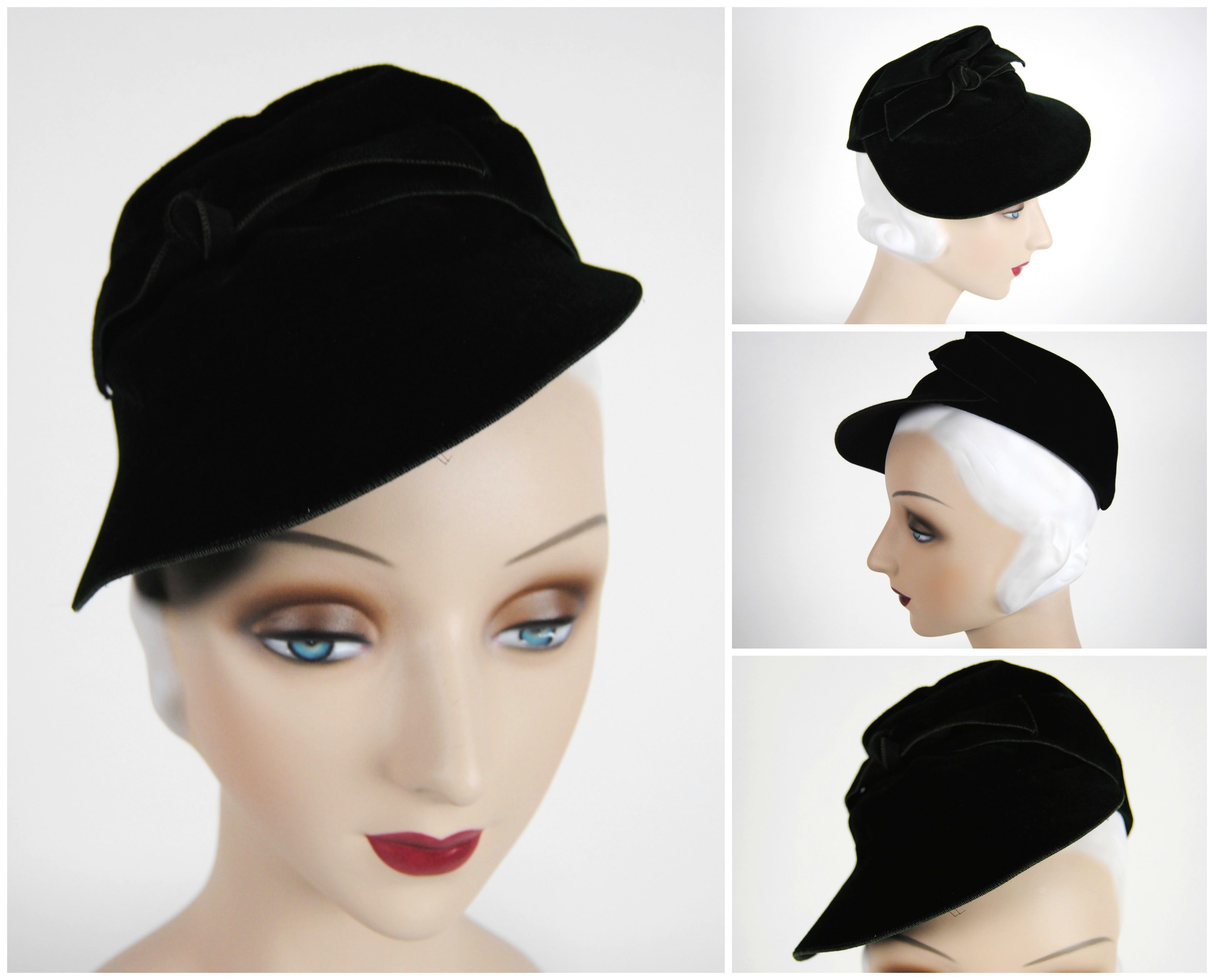 Ian Drummond Collection IDC Toronto Wardrobe Rentals Womens 30s Hat 1