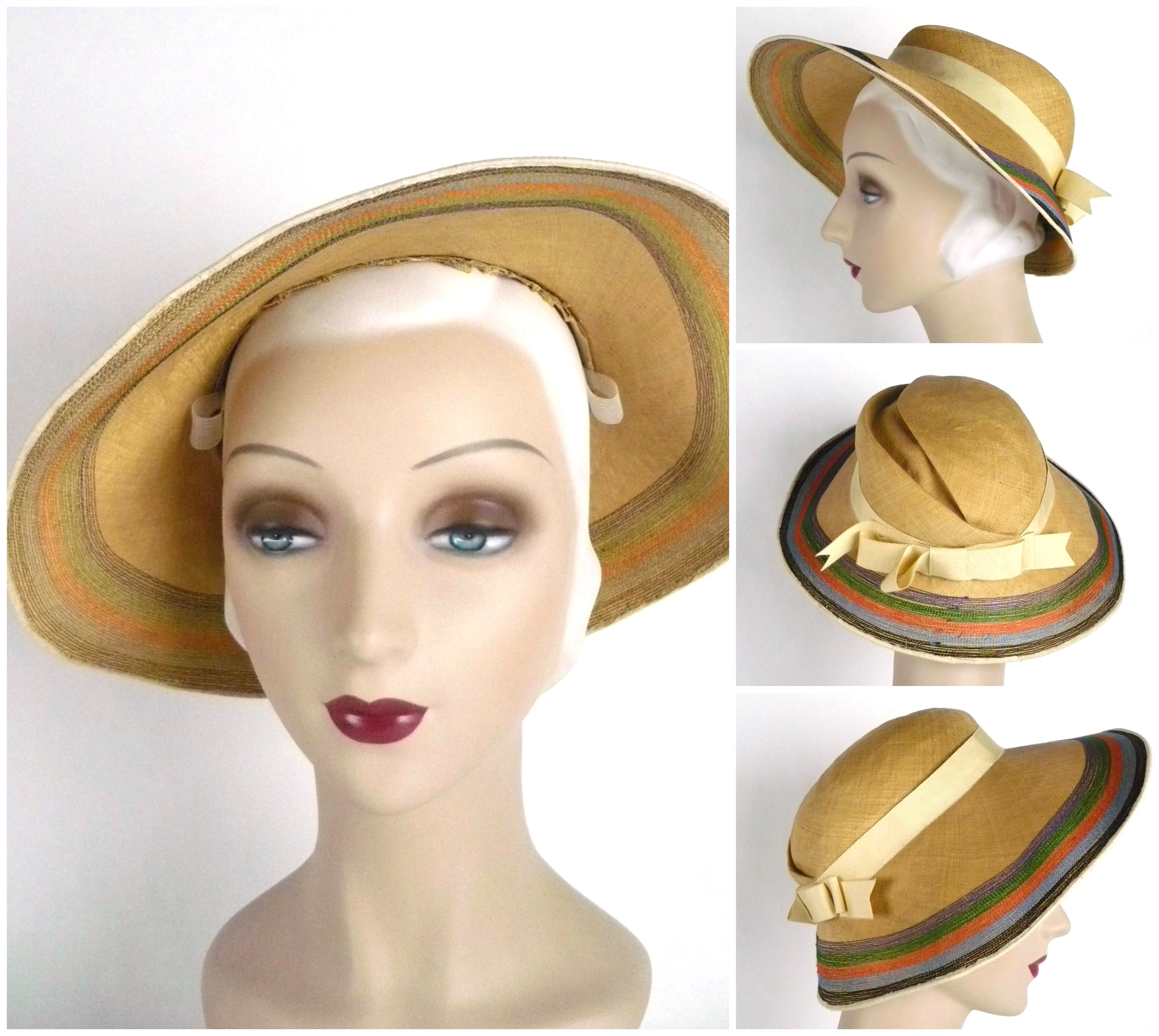 cIan Drummond Collection 1930s Hat 2