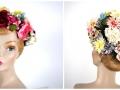Ian Drummond Collection IDC Toronto Wardrobe Rentals Womens 50s Pastel Floral HatCollage