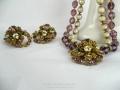 Ian Drummond Collection IDC Vintage Toronto Movie TV Wardrobe Rental jewellery 2 pc set DeMario 2