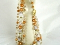 Ian Drummond Collection IDC Vintage Toronto Movie TV Wardrobe Rental jewellery 2 pc set Unsigned 3