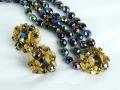 Ian Drummond Collection IDC Vintage Toronto Movie TV Wardrobe Rental jewellery 3 pc set DeMario 2
