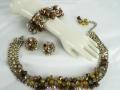 Ian Drummond Collection IDC Vintage Toronto Movie TV Wardrobe Rental jewellery 3 pc set Hobe 5
