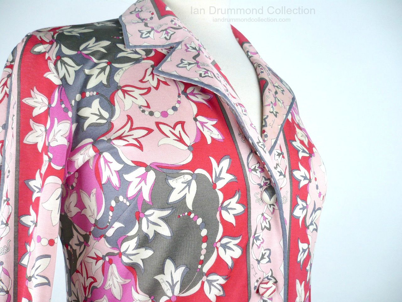 Ian Drummon Collection Toronto Vintage Clothing Show Pucci Blouse