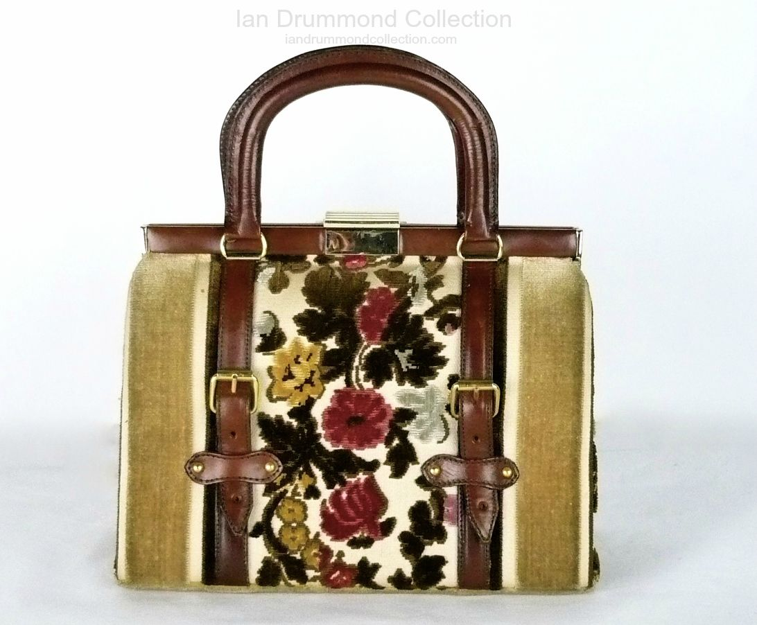 Ian Drummond Collection Toronto Vintage Clothing Show 70s purse